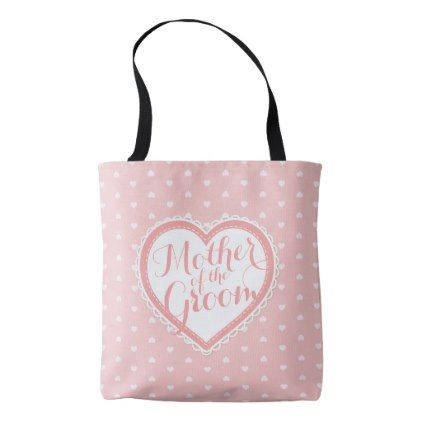 Mother of the Groom Heart Frame Wedding | Tote Bag | Bridal parties ...