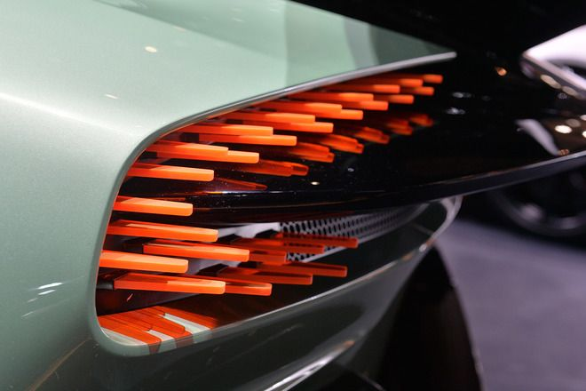 Rear Lights Aston Martin Vulcan Geneva 2015 Detail Pinterest