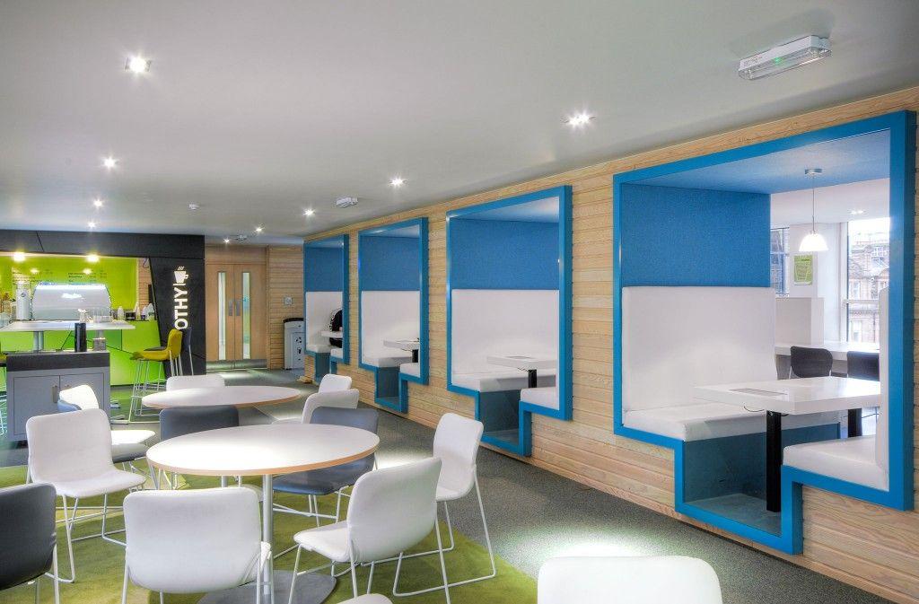 Student Loans Company, Glasgow Office interior design
