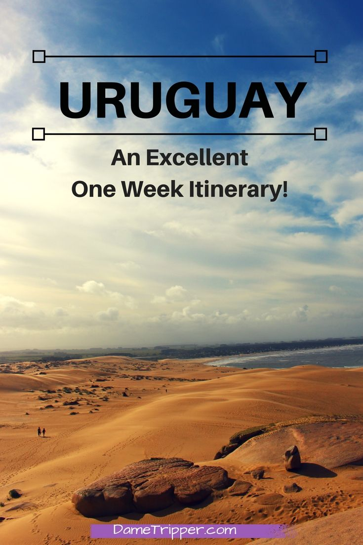 Uruguay is a fascinating place in it's own right, yet many people don't have it on their radar. Here's how to spend one amazing week in this country!