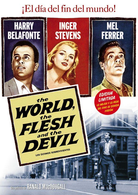 The World The Flesh and the Devil Poster Movie 11x17 Harry Belafonte Inger Stevens Mel Ferrer