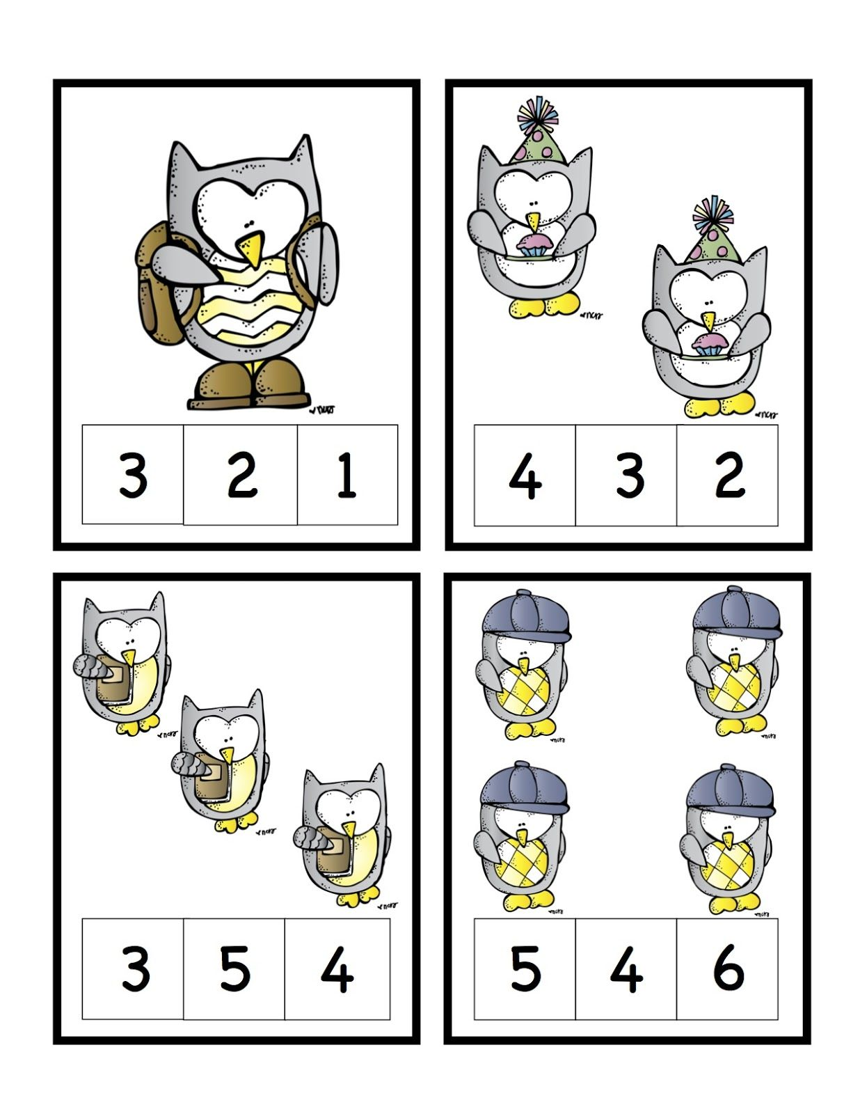 Preschool Printables Owl Printable