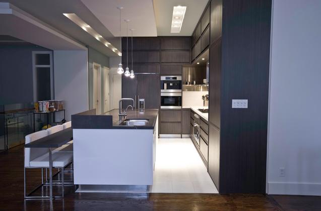 dark vs light kitchen new york contemporary kitchen home on kitchen remodel timeline id=54570