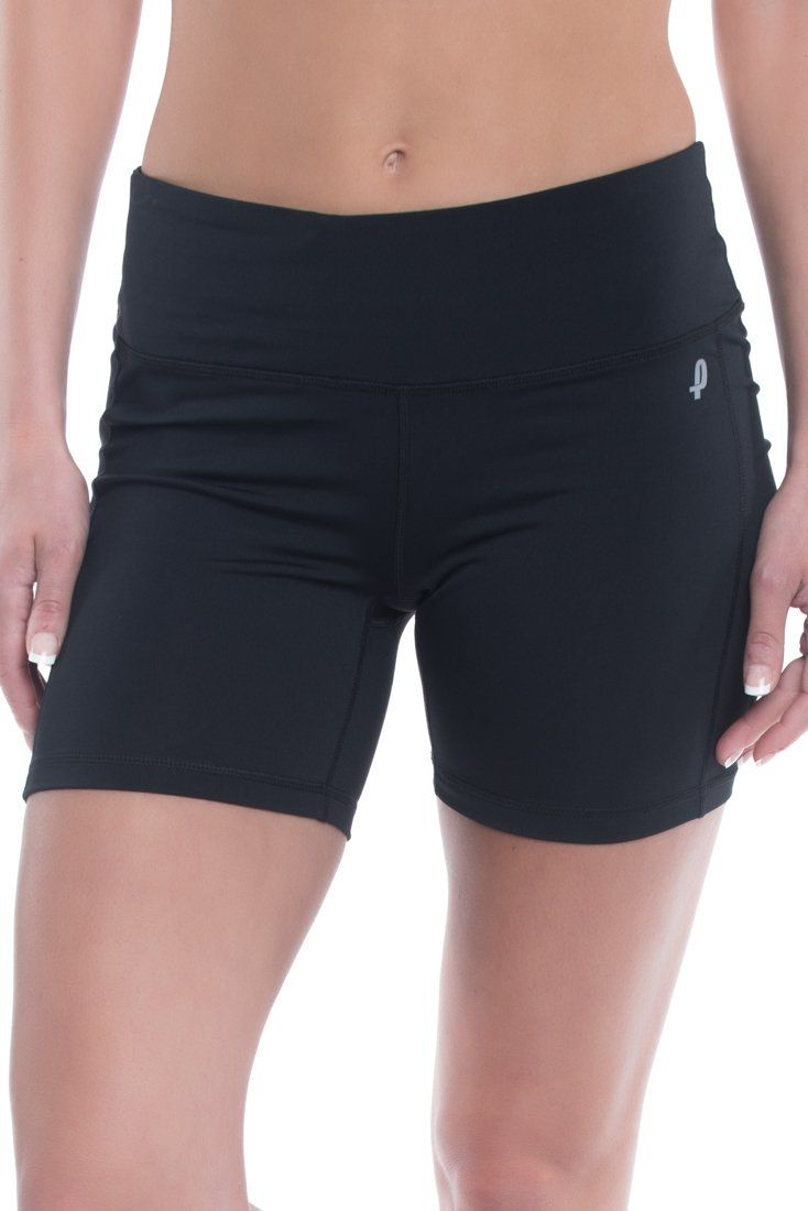 Penn Women S Compression Shorts Low Rise Mid Thigh Ladies Fitness Shorts Black Large Compression Ultra T Compression Shorts Training Shorts Athletic Women