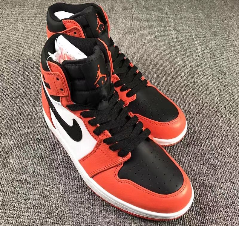 deb0cbeadeca Air Jordan 1 Rare Air Max Orange Black White 332550 800