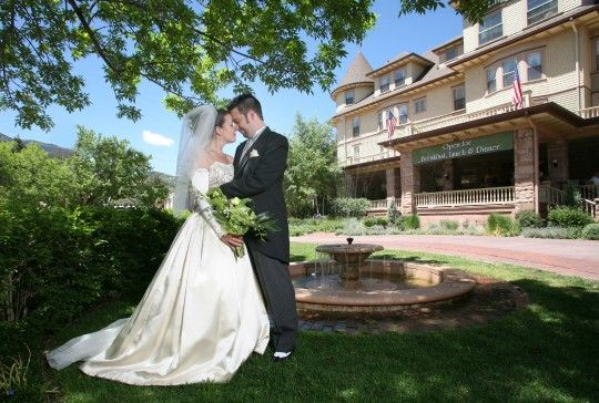 Manitou Springs Wedding Cliff House At Pikes Peak Wedding