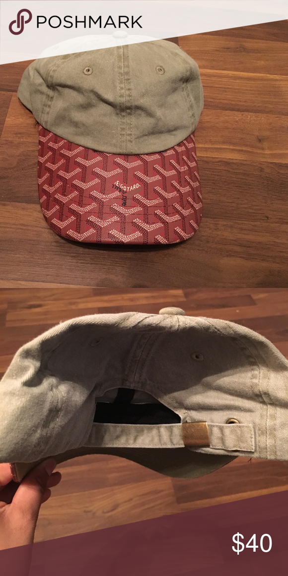 08a473c44fd Goyard dad hat Canvas material dad cap. Not taking offers only full price  already heavily discounted. Goyard Accessories Hats