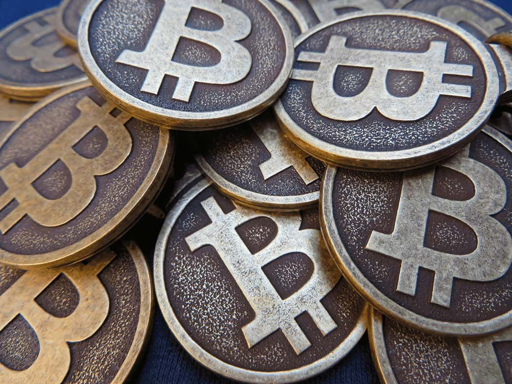 Bitcoin price drops following record highs this weekend