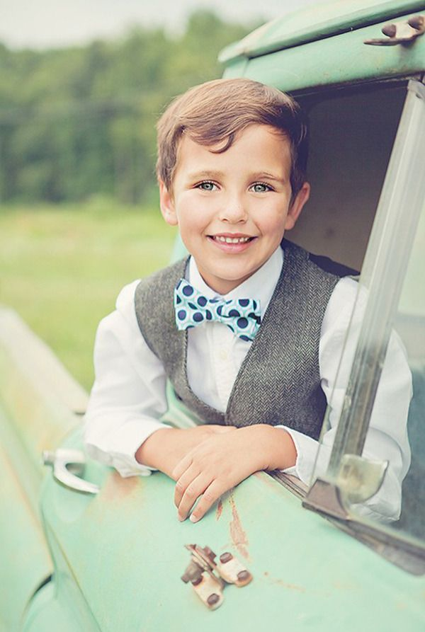 Ties For Lil Guys From The Belle And The Beau Preppy