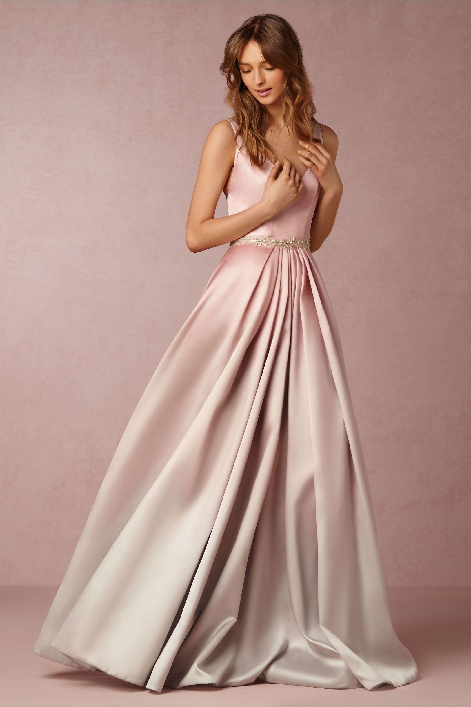 3ce43aaa8ea20 BHLDN Lorraine Dress / Wedding gown / Engagement Party / Rehearsal Dinner /  Formal / Avant Garde / Ombre Silk