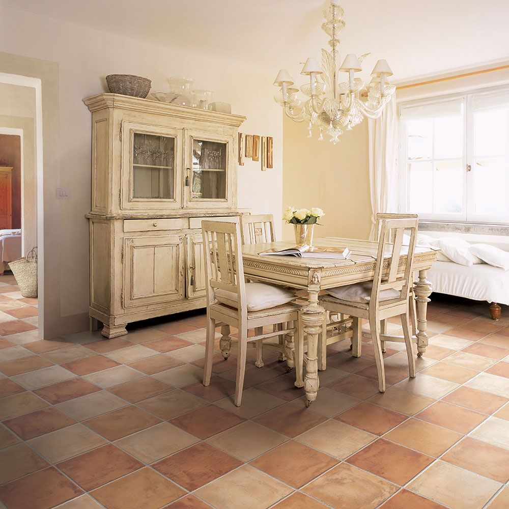 Country Farmhouse Terracotta Effect Tiles Add the rustic