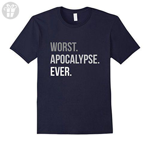 Mens Worst Apocalypse Ever - Funny Solar Eclipse T-Shirt 2017 3XL Navy - Funny shirts (*Amazon Partner-Link)