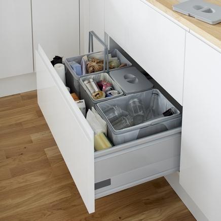 pull out kitchen bin under sink
