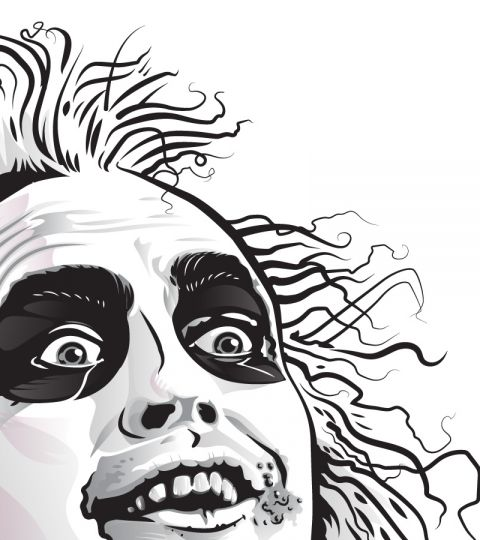 Beetlejuice Drawing Google Search Tim Burton Art Drawings