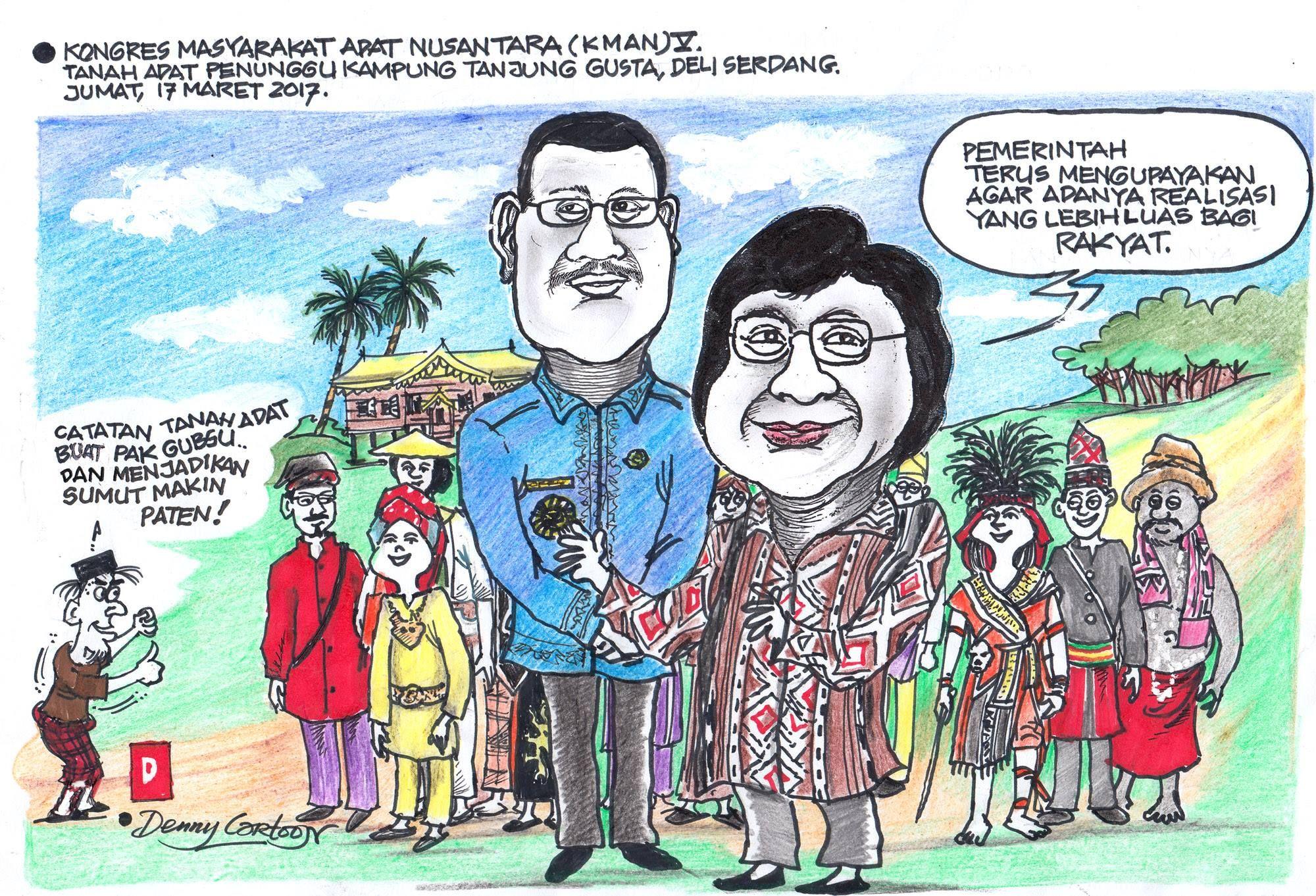 Gambar Karikatur Pahlawan Pendidikan