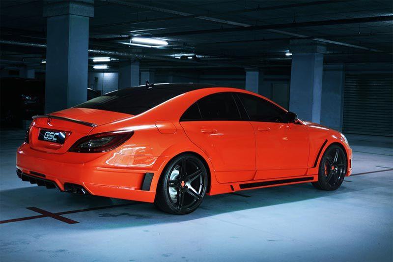Cls63 amg wide body kit mercedes benz cls 63 amg stealth for Orange park mercedes benz