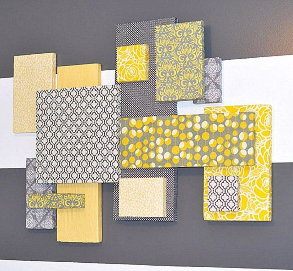 Fabric Wall Decor Ideas | wall decoration using fabric with ...