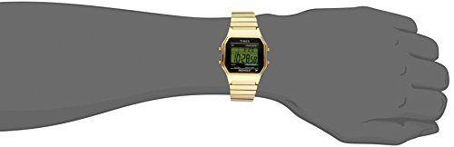 1585e1938 Timex® Men's Classic Digital Gold-Tone Expansion Band Watch #T78677 Timex® Men's  Classic Digital Gold-Tone Expansion Band Watch #T78677 This fashion-forward  ...