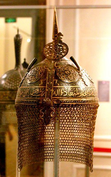 Medieval azerbaijani helmet (Safavid - Iran Dynasty)
