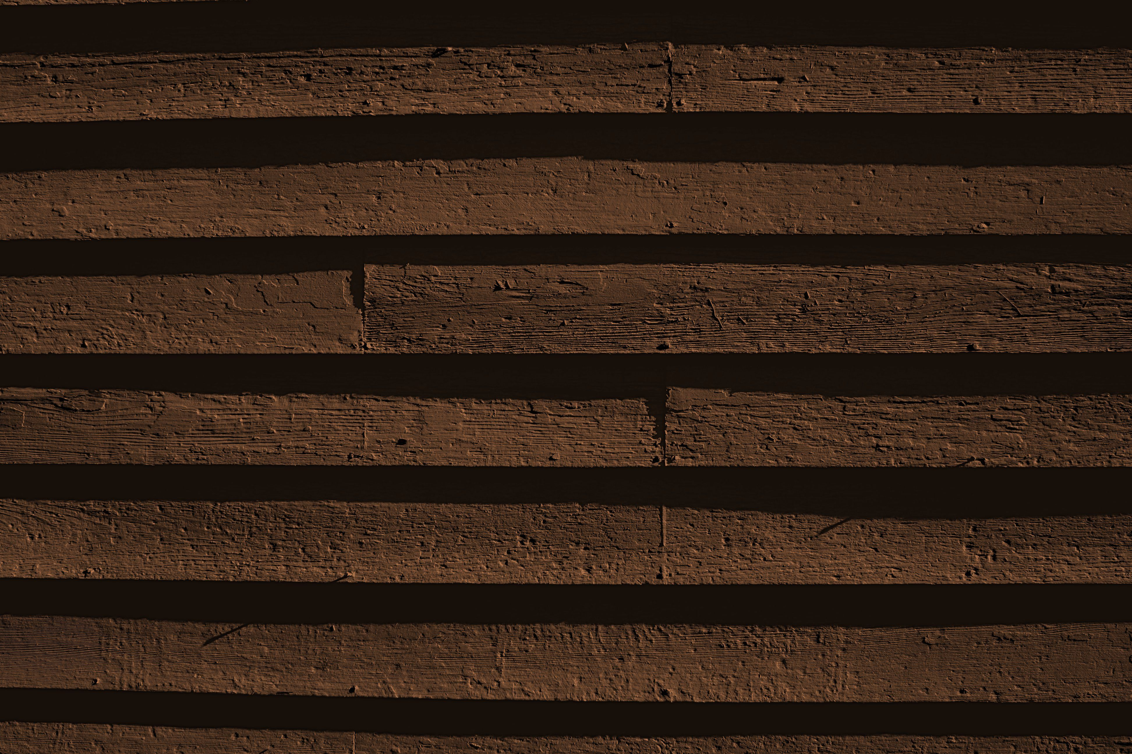 Brown Painted Wooden Siding Texture Picture Free Photograph