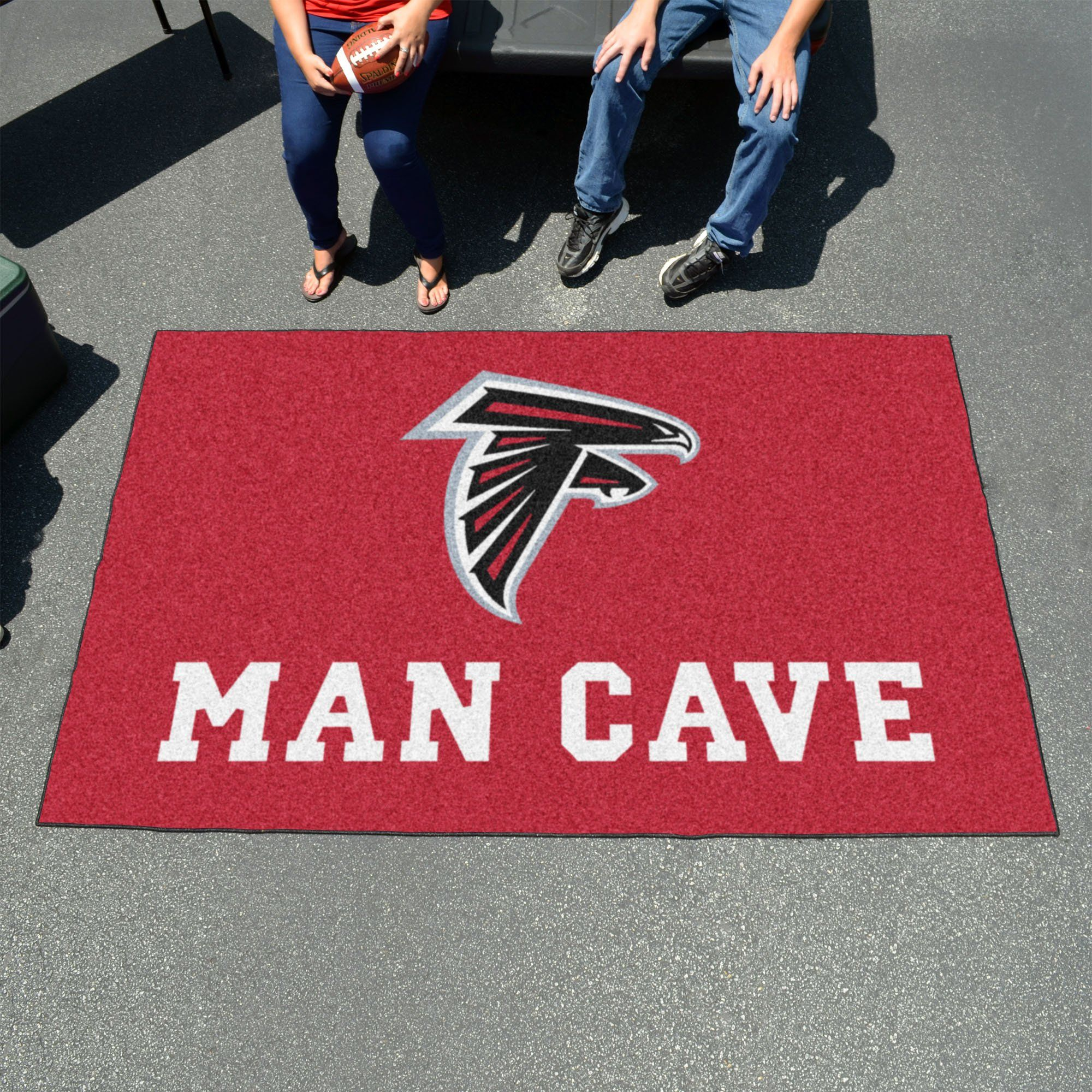 Nfl Atlanta Falcons Man Cave Ultimat 5 X8 Rug With Images Atlanta Falcons Man Cave Carpets For Kids Mississippi State University