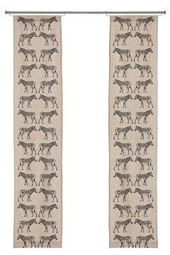 zebra panel curtains
