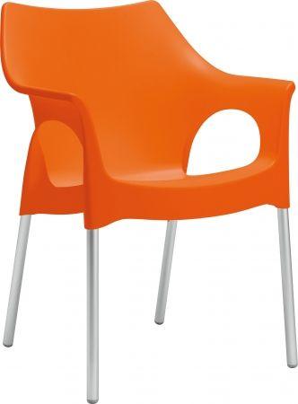 Gastro Stuhl Kunststoff Bergamo Orange Aus Polypropylen Gartenstuhle Stuhl Kunststoff Stuhle