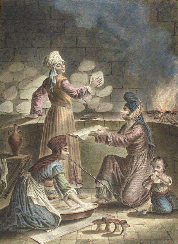 Syrian Women Baking Bread Ottoman Empire By Fra On Twitpic Ottoman Empire Ottoman India Art