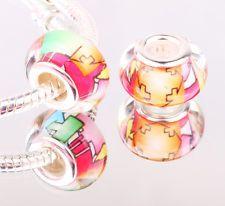 jewelry 5pcs murano diy glass beads LAMPWORK for European Charm...