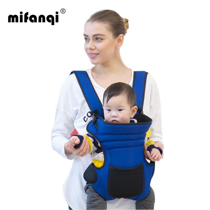 Ergonômico Portador de Bebê 4-6 Meses Frente Carry Bebe Algodão Mochila Infantil Mochila Carriers 20 kg Echarpe Porte Portabebe