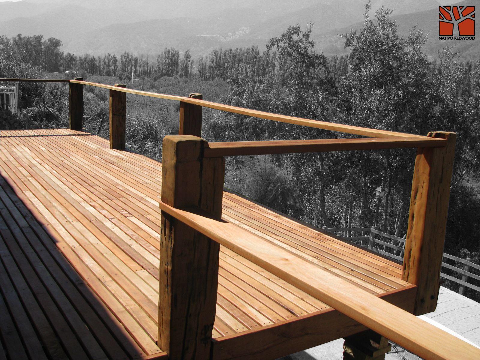 terraza en casa en cajn del maipo estructura deck para terraza elevada