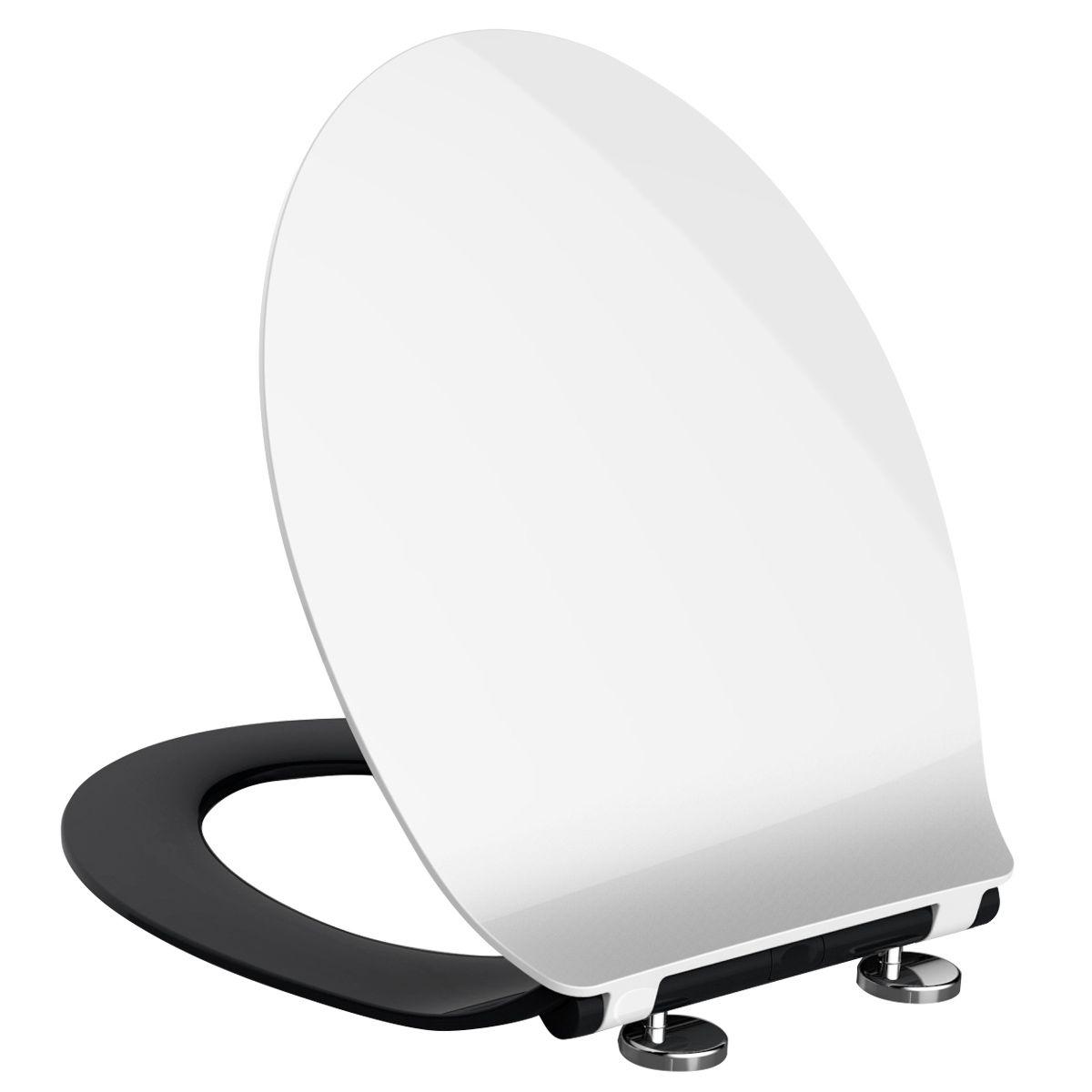 Deska Sedesowa Wolnoopadajaca Slim Sense Czarna 7244310208 Oficjalne Archiwum Allegro Mirror Table Decor Furniture