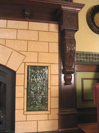 Fireplace Decorative Tiles Decorative Ceramic Tile Fireplace  Tile  Pinterest  Tiled