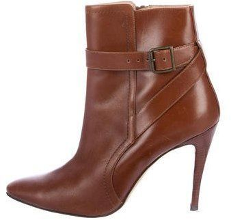 Manolo Blahnik Semi-Pointed Ankle Boots where can i order UwDu1Dd1d
