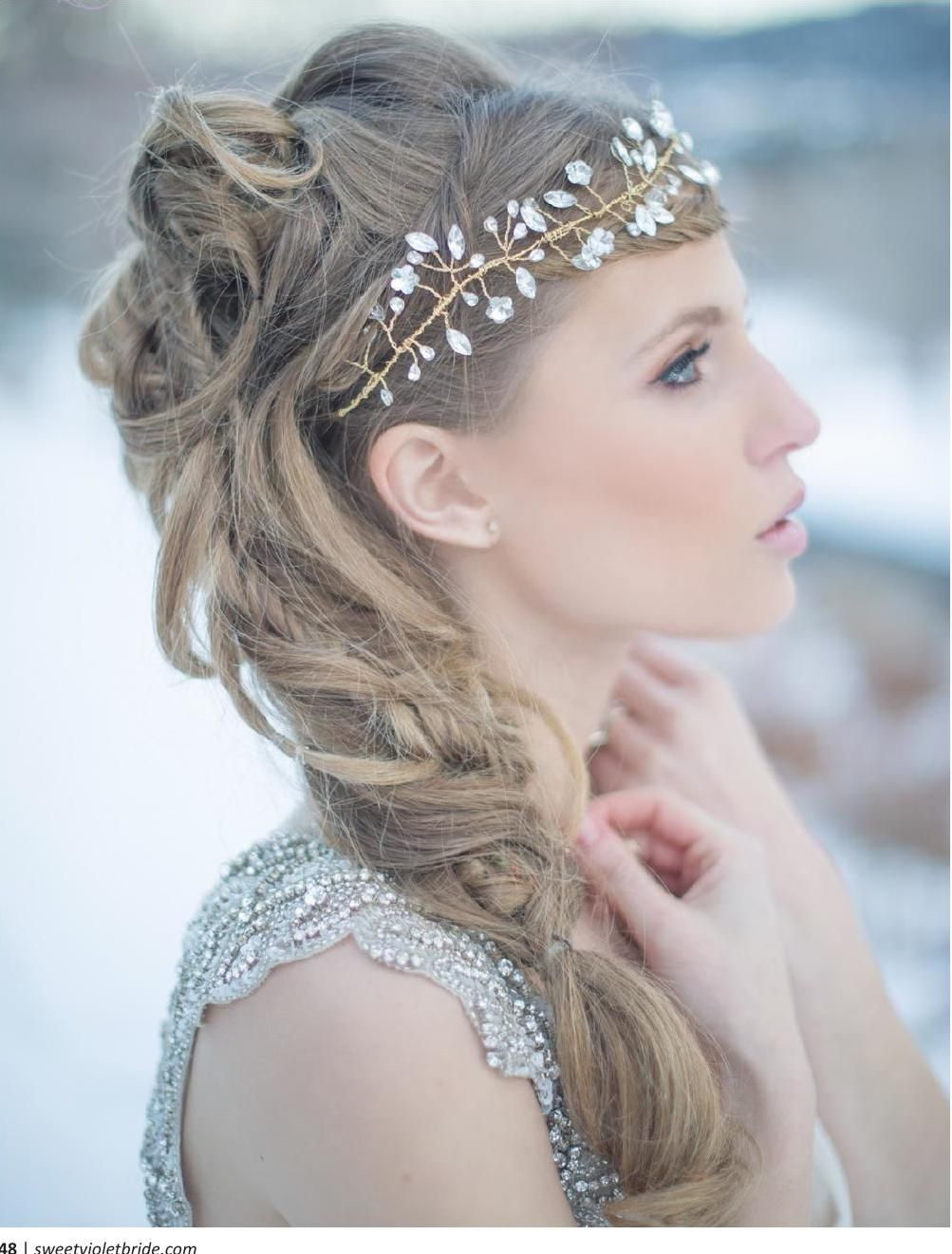 sweet violet bride issue 3 {winter / spring 2015} | violets, winter