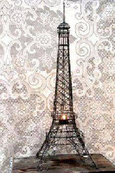 Amazon Com Eiffel Tower Paris France 20 Black Metal Wire
