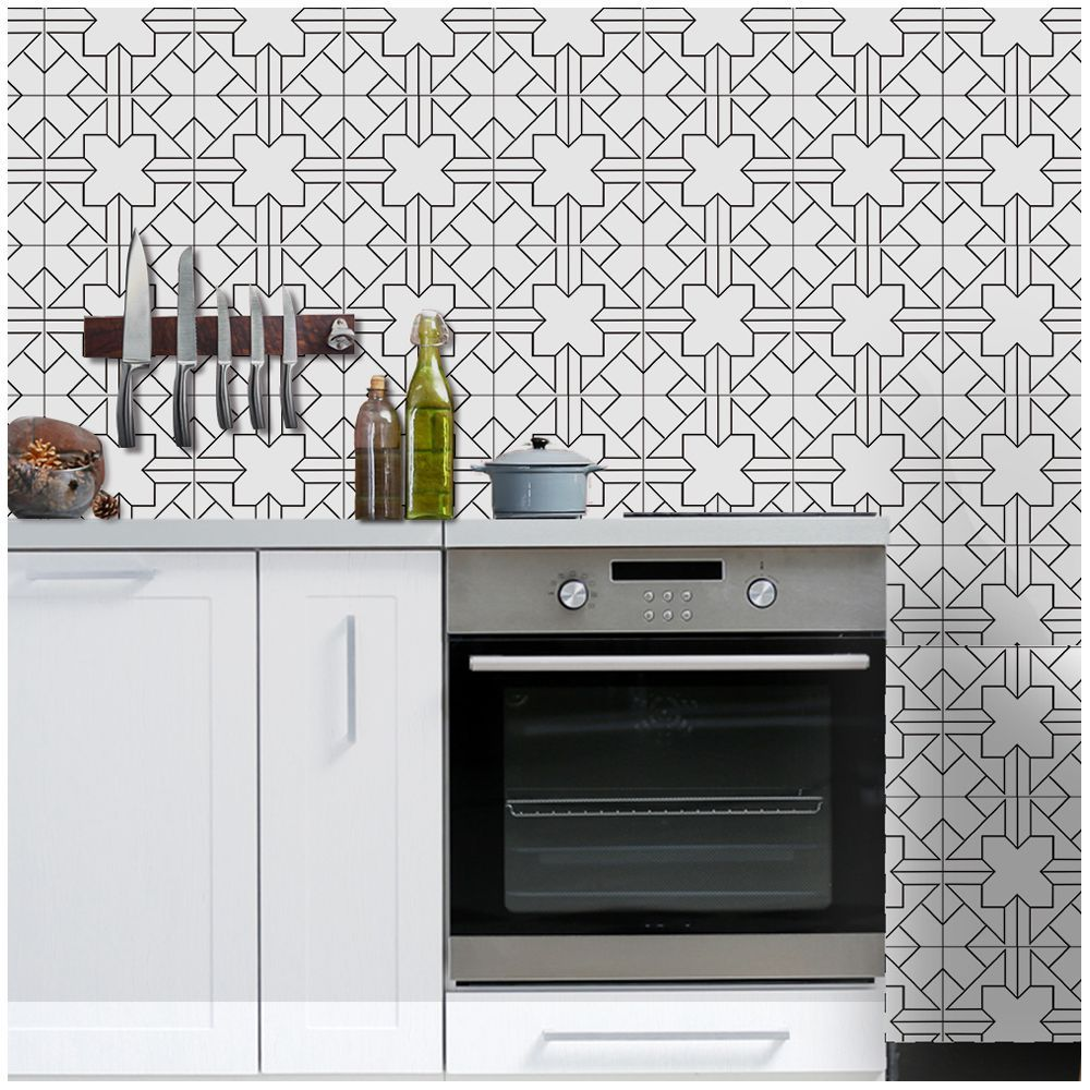 Tile Decoration Stickers Amazing European Style Imitation Tiles Stickers Home Diy 3D Creative Floor 2018