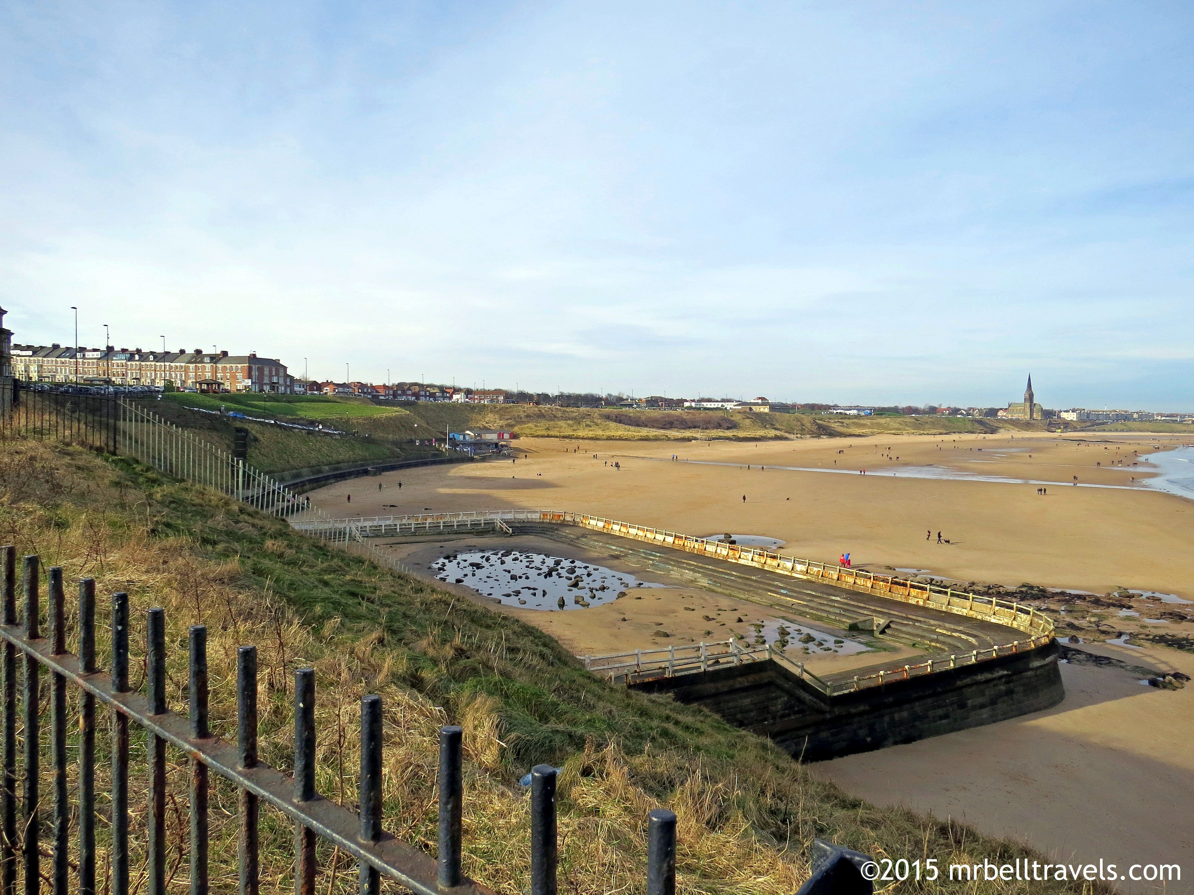 The longsands tynemouth showing the old outdoor pool www - Northumbria university swimming pool ...
