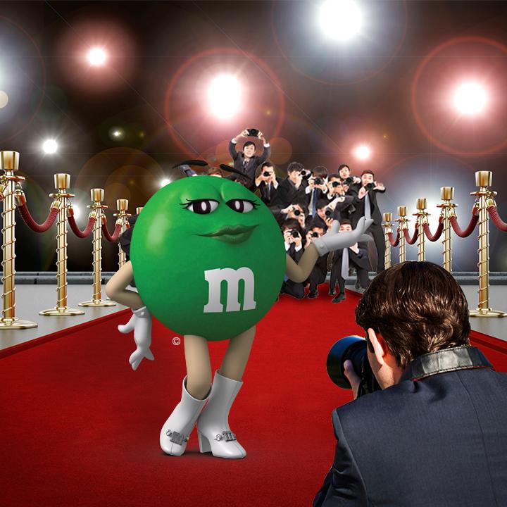 M&M's Mexico - Todos querrán una foto con ella.