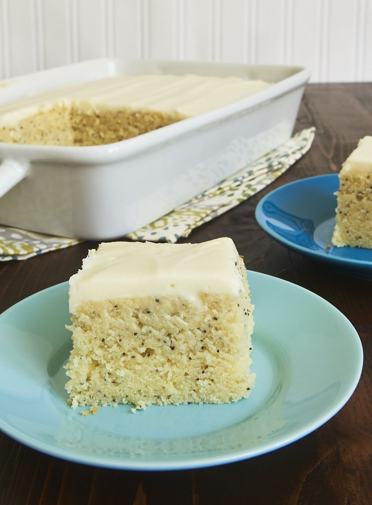 Lemon Poppy Seed Cake Pinterest