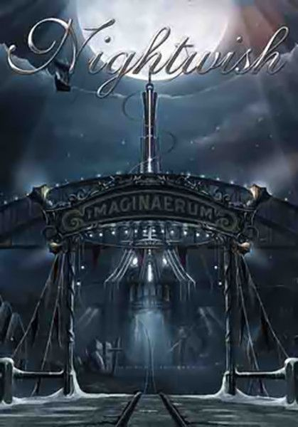 6ff90ac6 Nightwish Poster Flag Imaginaerum Logo Tapestry | Poster Flags in ...