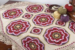 Ravelry: Imogen Blanket Kit pattern by Jane Crowfoot