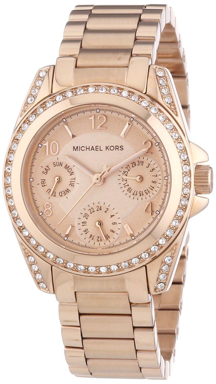 Women S Watches Review For Michael Kors Mk5613 Ladies Blair Rose Gold Watch Goldene Armbanduhr Damenuhren Michael Kors