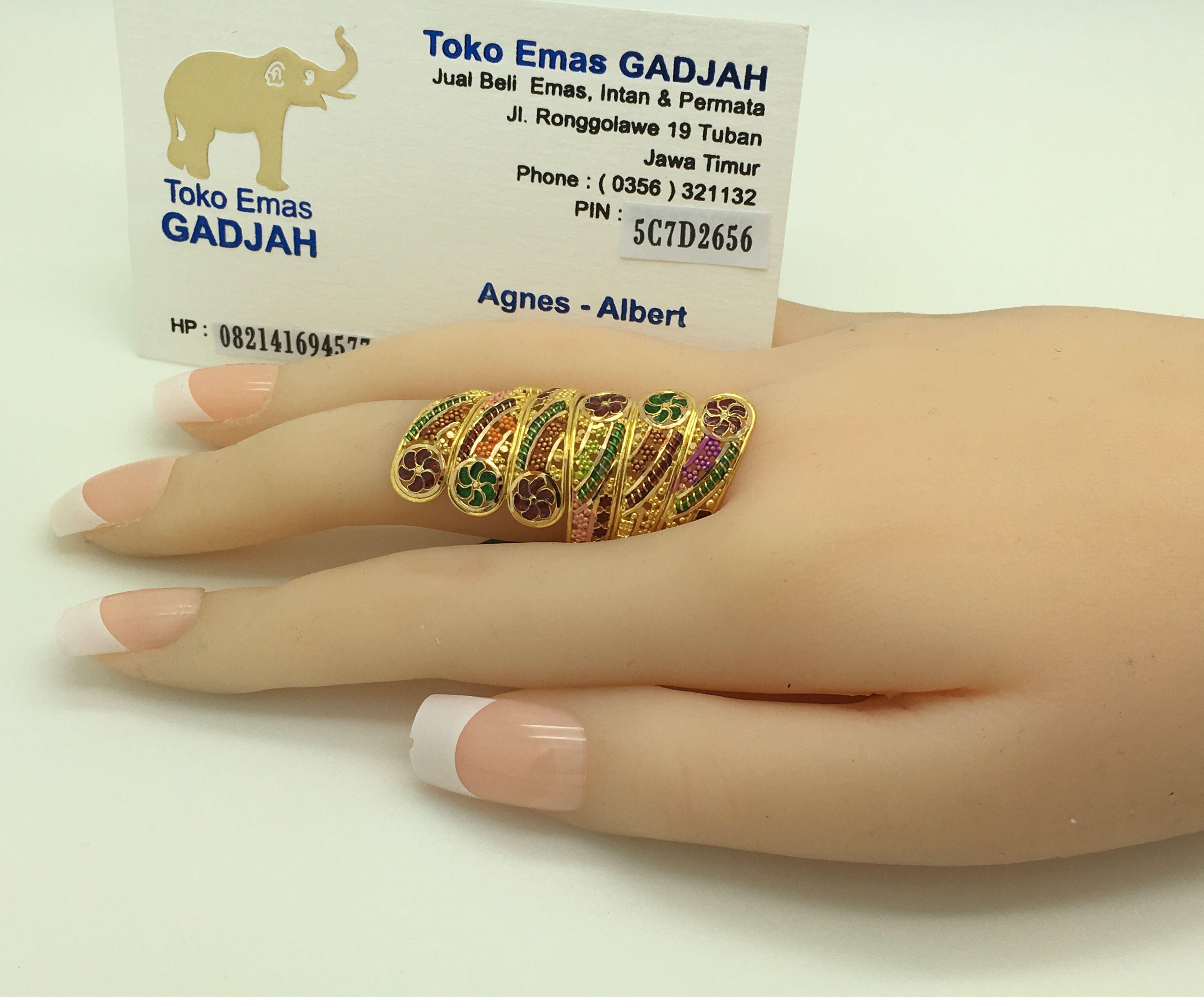 22k/91,6% Gold Dubai/India Swirl Ring -+12gr size 22 (XLarge ...