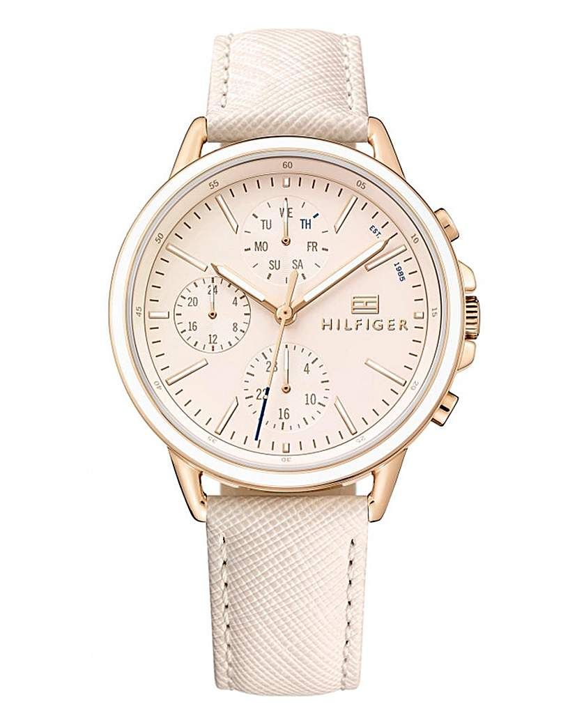 fd094062 Tommy Hilfiger Ladies Rose Tone Watch | Products in 2019 | Tommy ...