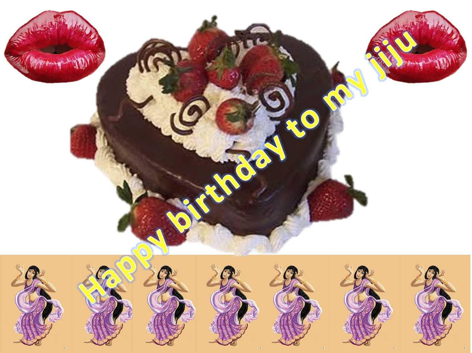 Happy Birthday Wishes For Jija With Cake Birthday Wishes For Jija