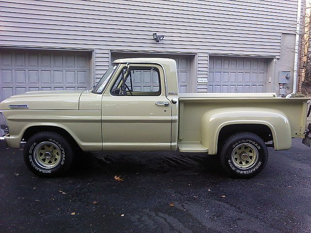 1967 Ford F100  Sweet Trucks  Pinterest  Rims and tires