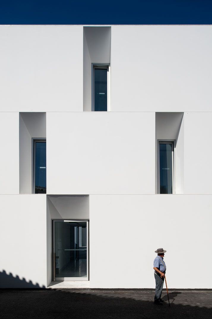 The nursing home of aires mateus architects through eyes fernando guerra  facades architecture design interior also rh pinterest