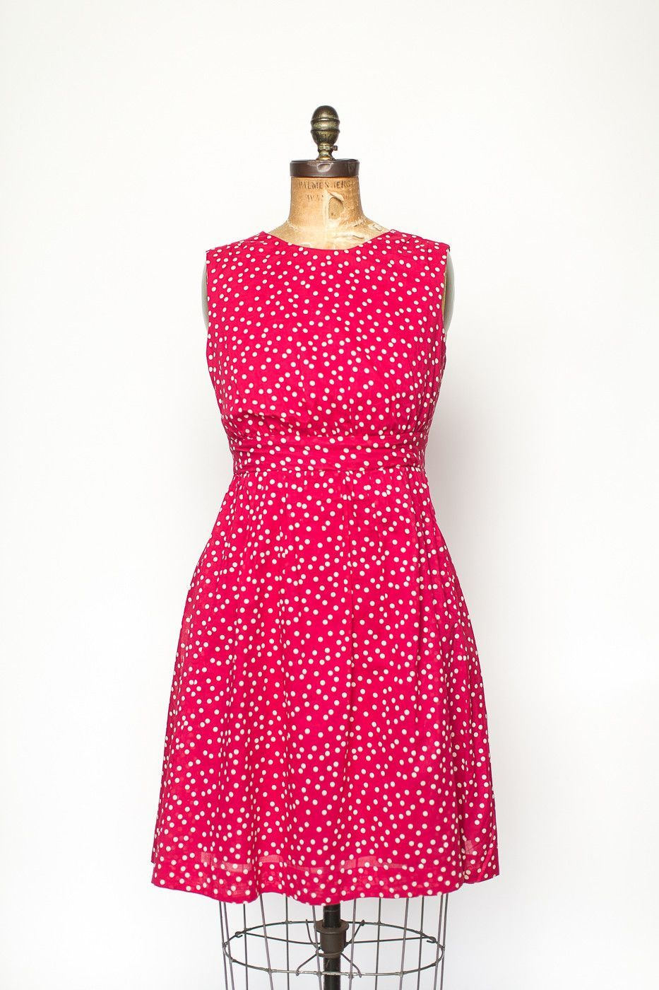 Lucy dress red w white spots products pinterest lucy