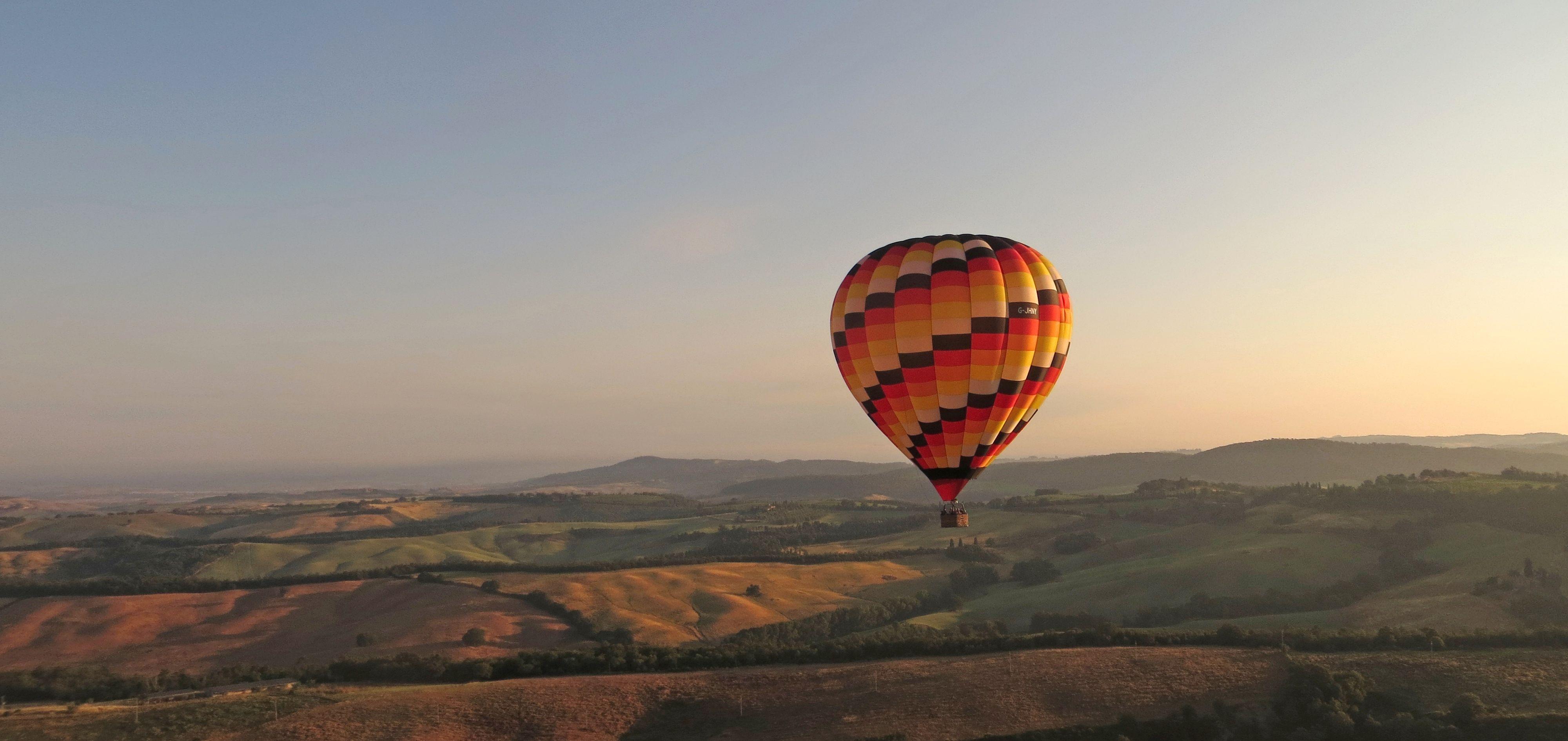 Ballooning In Tuscany to Ballooning in Tuscany